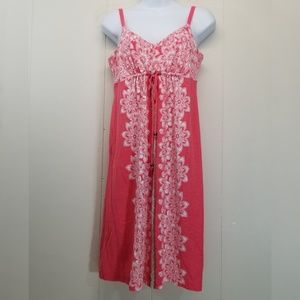 Tommy Bahama S Tank Dress Pink Floral Sleeveless